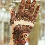contoh gambar henna pengantin terbaru