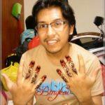 contoh henna pengantin laki laki
