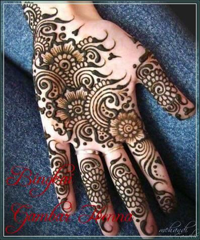design henna arabic