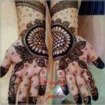foto henna pengantin mewah