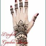 foto henna tulisan arab