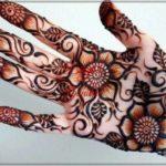 gambar bunga buat henna
