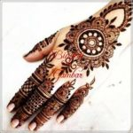 gambar bunga dari henna