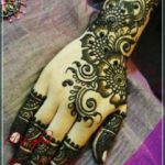 gambar henna arab simple