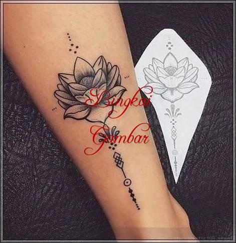 Gambar Henna Bunga Mawar Simple Bingkaigambar Com