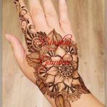 gambar henna bunga terbaru