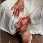 gambar henna bunga yang mudah