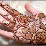 gambar henna gambar bunga