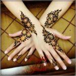 gambar henna khusus pengantin