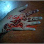 gambar henna motif hewan