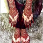 gambar henna pengantin india