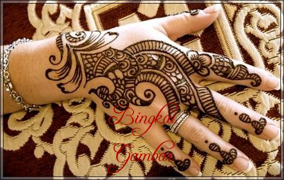 Gambar Henna Pengantin Jawa Bingkaigambar Com