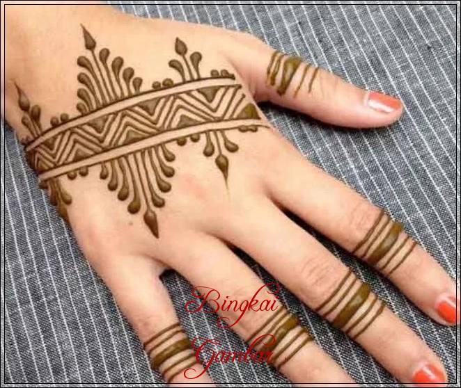 Gambar Henna Pengantin Laki Laki Bingkaigambar Com