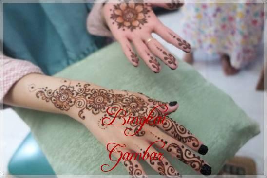 Gambar Henna Pengantin Muslim Bingkaigambar Com