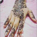 gambar henna pengantin simple
