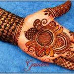 gambar henna pengantin telapak tangan