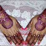 gambar henna pengantin terbaru