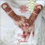 gambar henna pengantin yang simple