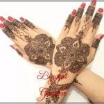 gambar henna pernikahan yang simple