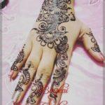 gambar henna simple untuk pengantin