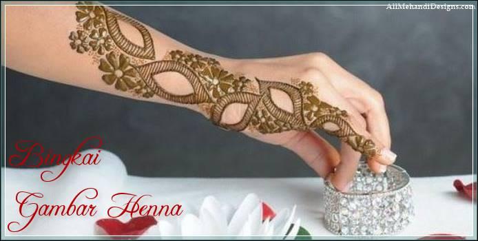 gambar henna tangan arab