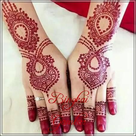 Gambar Henna Tangan Pengantin Simple Bingkaigambar Com
