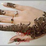 gambar henna untuk pengantin