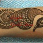 gambar hewan dari henna