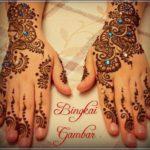 gambar hiasan henna pengantin