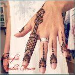 gambar motif henna arab