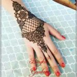 gambar pacar henna untuk pengantin