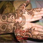 gambar ukiran henna pengantin