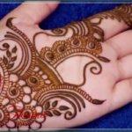 henna design arabic style