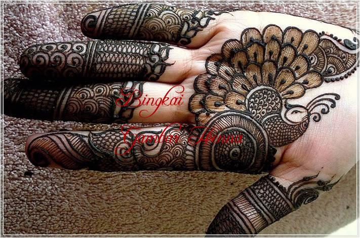 henna gambar hewan