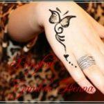 henna kupu kupu cantik