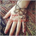 henna motif hewan