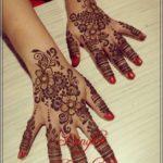 henna pengantin modern