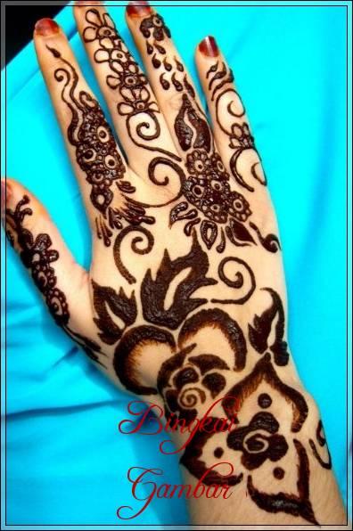koleksi gambar henna pengantin