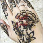 kumpulan gambar henna bunga