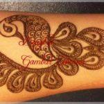 motif henna gambar hewan