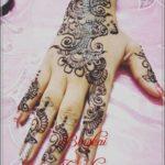 motif henna pengantin muslim