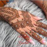 motif henna pengantin terbaru