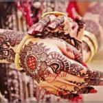 motif henna untuk pengantin