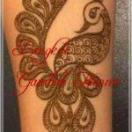 tato henna gambar hewan