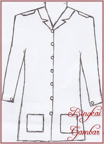Gambar Sketsa Baju Atasan