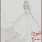 Gambar Sketsa Baju Gaun