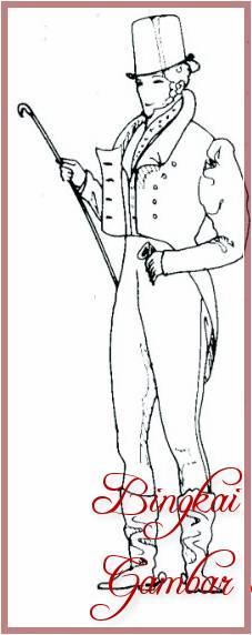 Gambar Sketsa Baju Mayoret