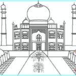 Gambar Sketsa Masjid Hd