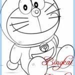 Sketsa Doraemon Yang Mudah