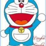 Sketsa Gambar Anime Doraemon